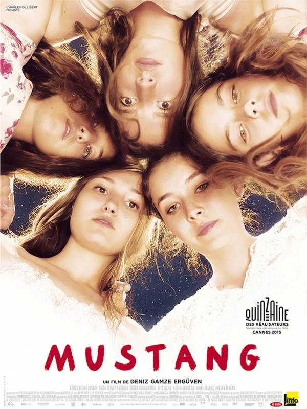 Mustang, Affiche